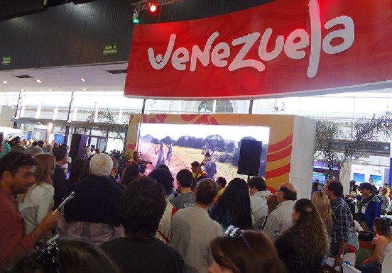 Este año Venezuela es el país invitado a la feria argentina.