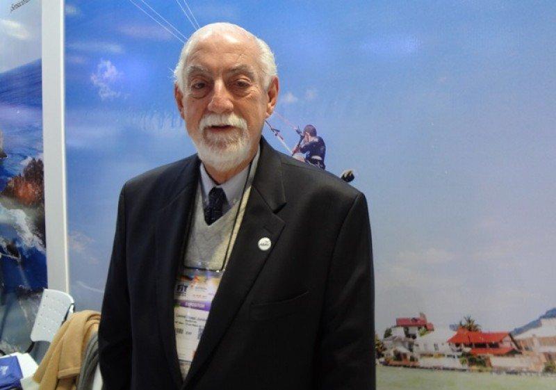 Leonel Rossi Junior, vicepresidente internacional de ABAV en la FIT 2015.