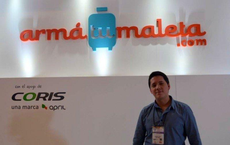 Sebastian Legas, socio gerente de ArmaTuMaleta.com