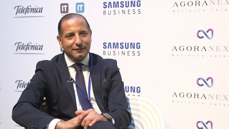 Kemel Kharbachi, presidente y promotor de Ágora Next.
