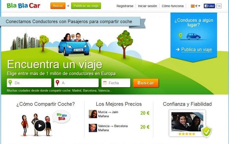 BlaBlaCar se reivindica como red social y limita a un 0,3% el impacto en el autobús