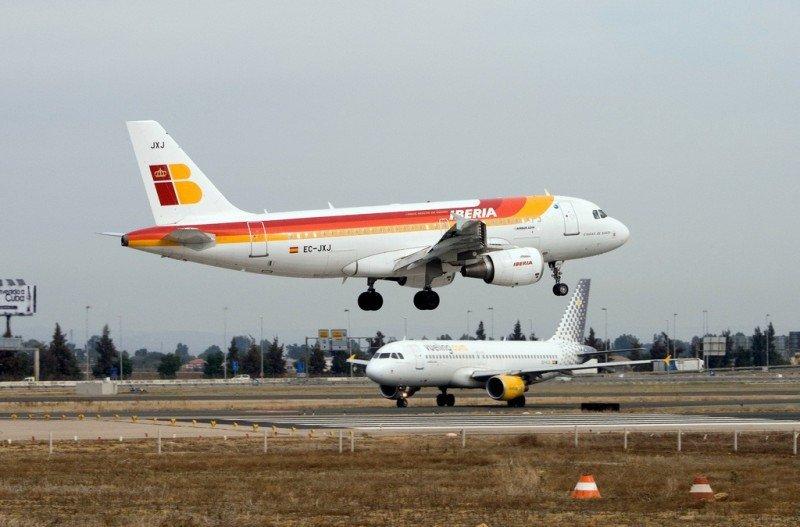Vueling e Iberia disparan el tráfico de IAG (Foto: Flickr/ Borja Ruiz).