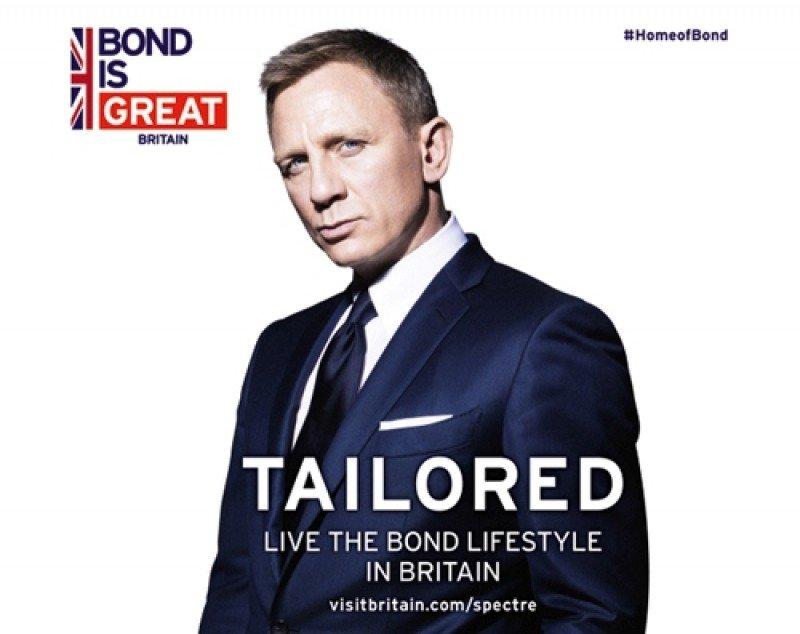 Una imagen promocional de la nueva campaña turística de Visit Britain.