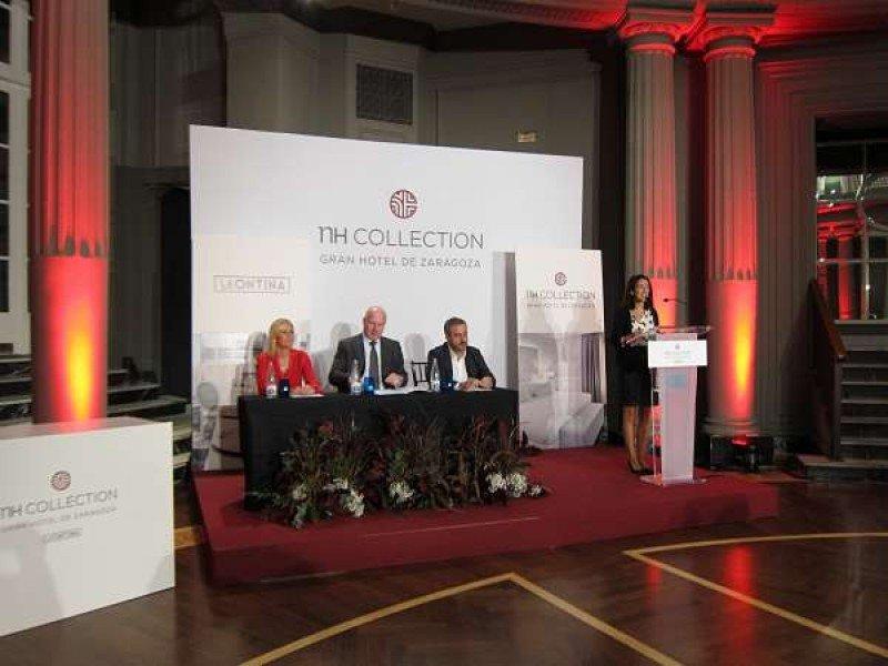 El Gran Hotel de Zaragoza se incorpora a la marca NH Collection