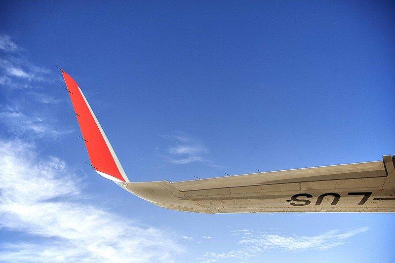 Iberia Express optimizó sus aviones en servicio con sharklets ahorrando hasta 200 toneladas de combustible por avión/año.