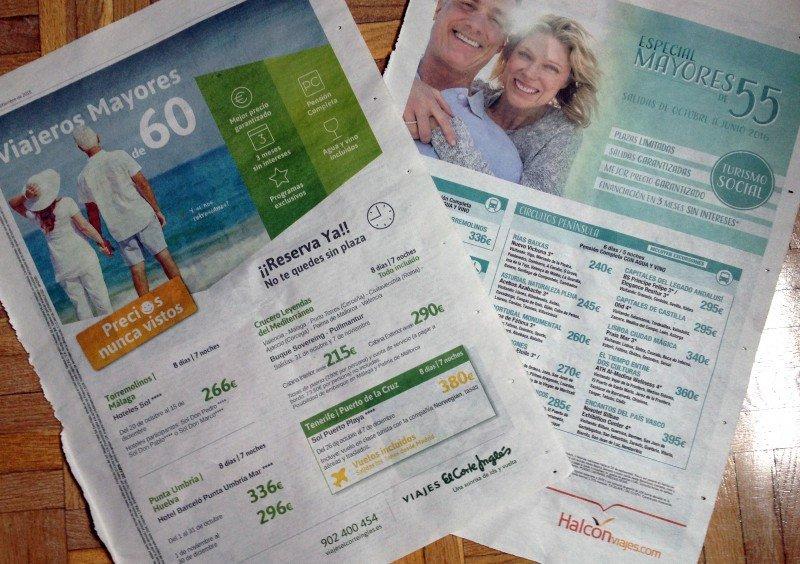 Varias agencias anuncian como 'turismo social' los viajes en temporada baja.