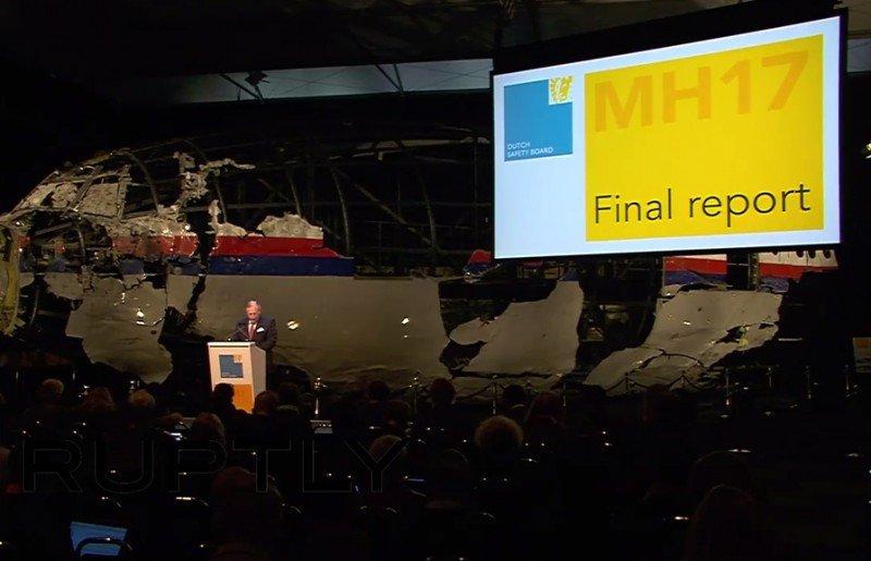 Presentación del informe final sobre el vuelo MH17.