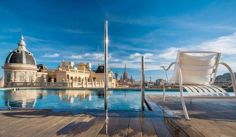 La media fue de 282 euros la noche. Foto Ohla Hotel Barcelona.