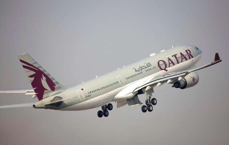 Airbus A330 de Qatar Airways.