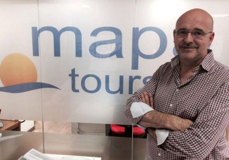 Alberto Díaz, director general de Mapa Tours.