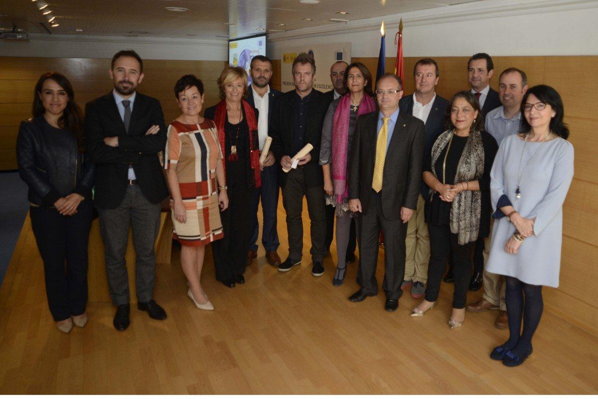 La secretaria de Estado de Turismo, Isabel Borrego, entregó los premios ayer en Madrid.