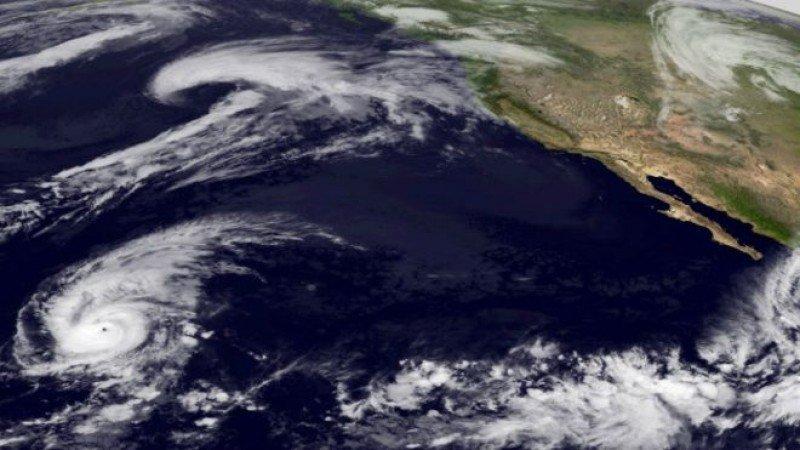 Imagen de la huracán Patricia.