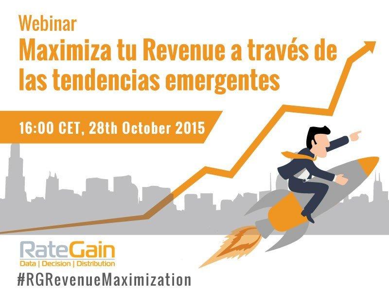 Webinar: Maximiza tu revenue a través de las nuevas tendencias