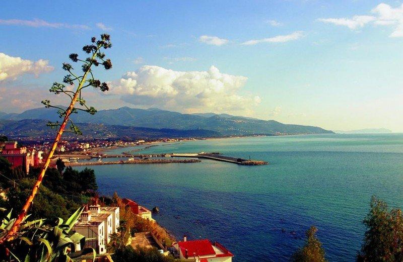 Imagen de la Marina di Casal Velino, en Salerno, uno de los 38 puertos incluidos en el proyecto Signa Maris.