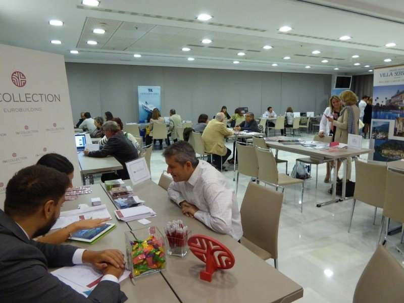 Workshop celebrado en el NH Collection Eurobuilding para presentar la iniciativa a turoperadores y agentes de viajes españoles.