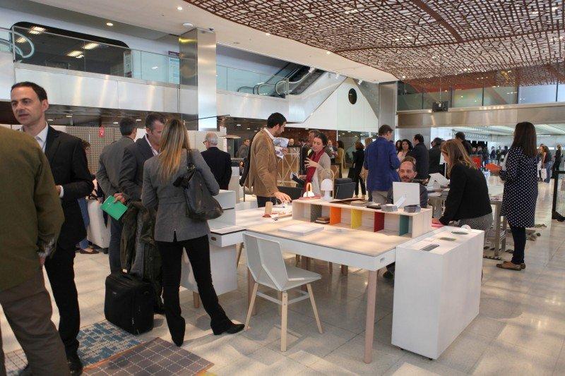InteriHOTEL este año ha contado con un área de exhibición de más de 4000 m² y más cantidad y variedad de expositores.