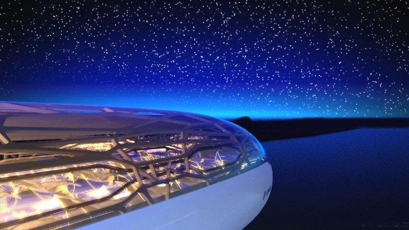 Los aviones futuros tendrán estructura biónica, cabina transparente y partes autolimpiantes (vídeo)