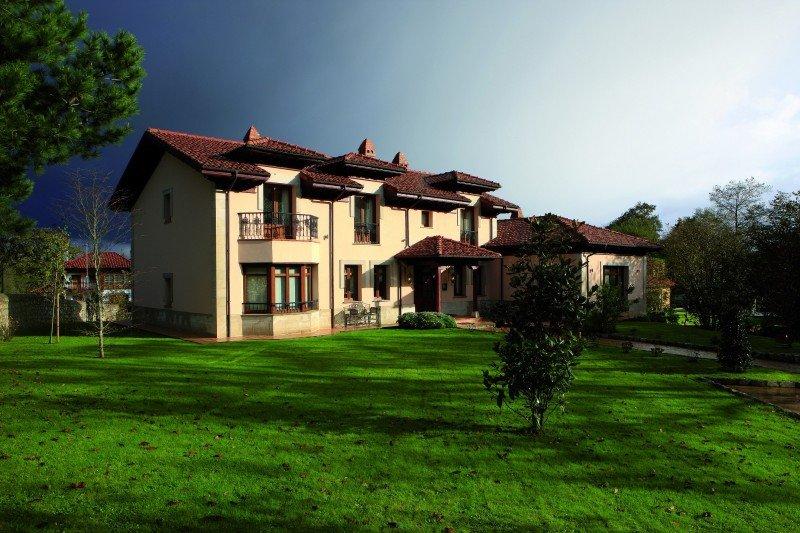 Hotel Rural Arpa de Hierba, en Asturias.