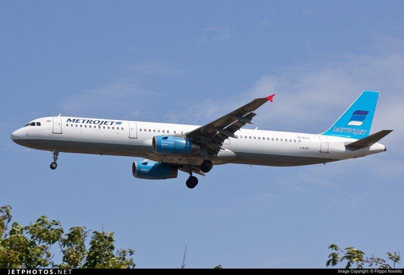 Un avión ruso con 224 pasajeros a bordo se estrella en Egipto