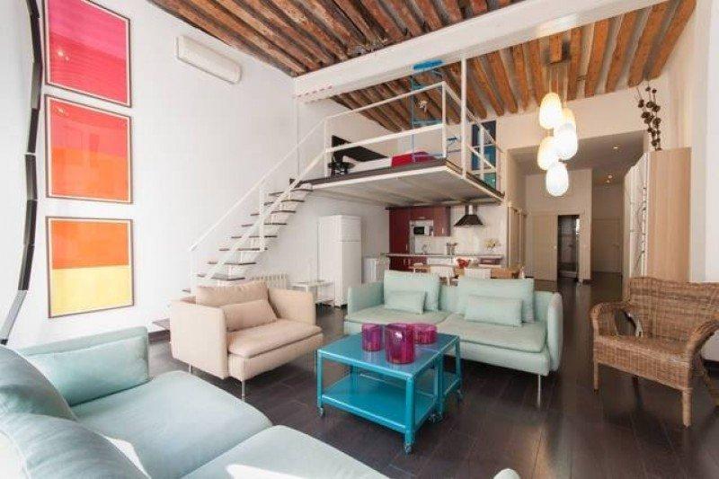 Uno de los apartamentos comercializados por la plataforma online Be Mate, empresa del hotelero Kike Sarasola.