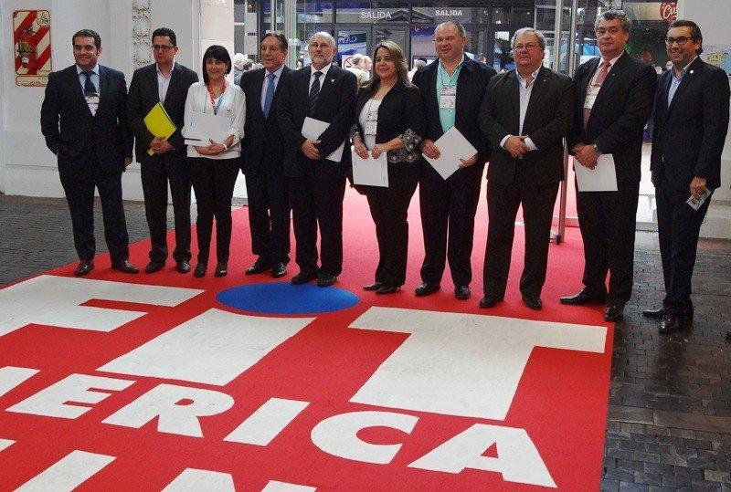 Directivos del Consejo Empresarial de Turismo de Sudamérica reuniones en Buenos Aires.