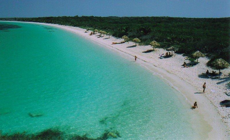 Playas de Cayo Santa María, al norte de Cuba.