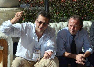 Walter Rodríguez, Secretario de FAEVYT y Pablo Singerman, Director del OEA.TUR.