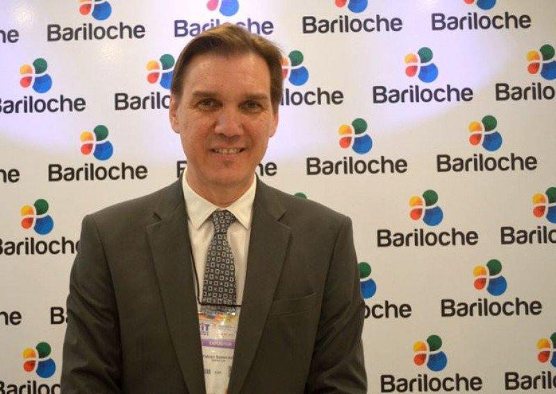 Fabián Szewczuk, presidente del Ente Mixto de Promoción Turística de Bariloche.