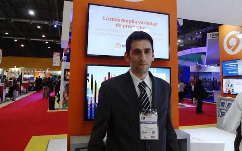 Andrés Magnello, responsable de Almundo.com para Argentina, Chile y Uruguay.