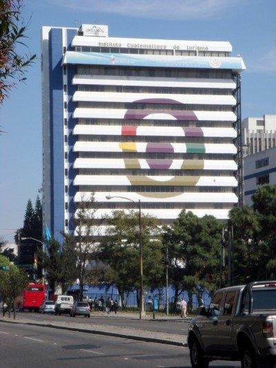 Sede del Inguat, en Ciudad de Guatemala.