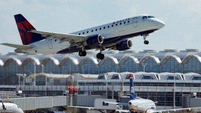 Delta Airlines redujo vuelos a Caracas de 4 a 1 por semana
