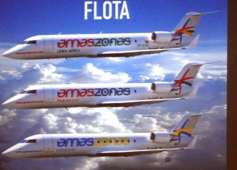 Diseño de aviones de Amaszonas Bolivia, Amaszonas Paraguay y Amaszonas Uruguay.