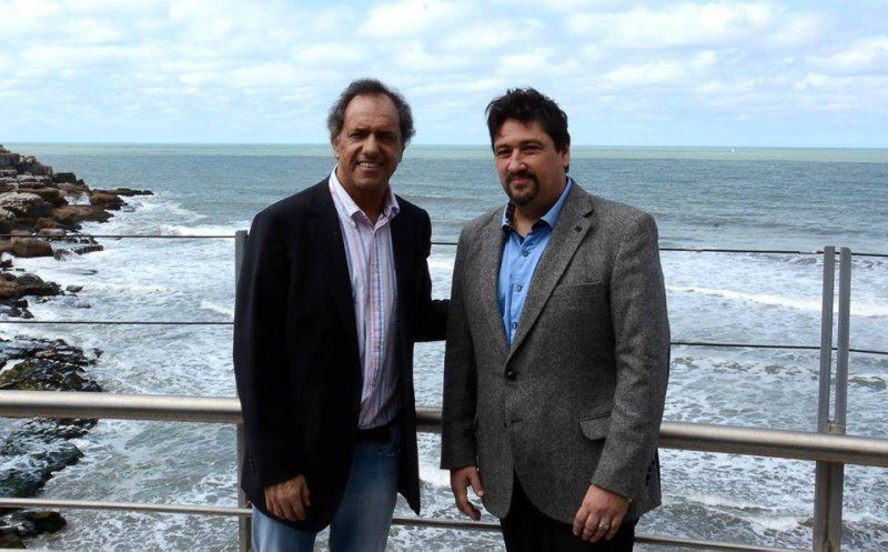 Daniel Scioli y Maurice Closs.