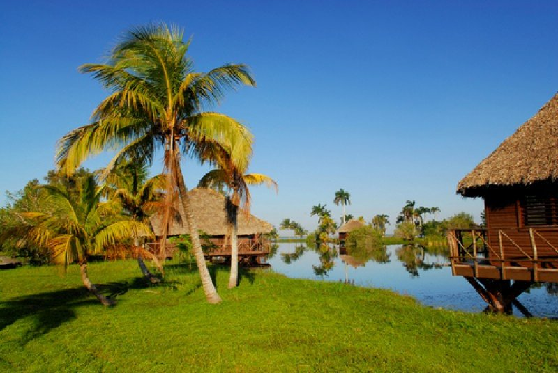 Reserva de biosfera de Ciénaga de Zapata, una de las más importantes del Caribe.