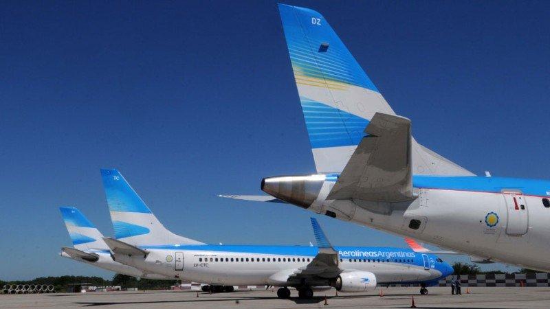 Ventas de Aerolíneas Argentinas aumentaron 16% en ocho meses