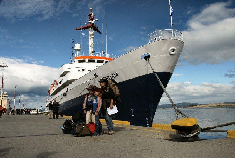 Ushuaia da comienzo a su temporada de cruceros antárticos.