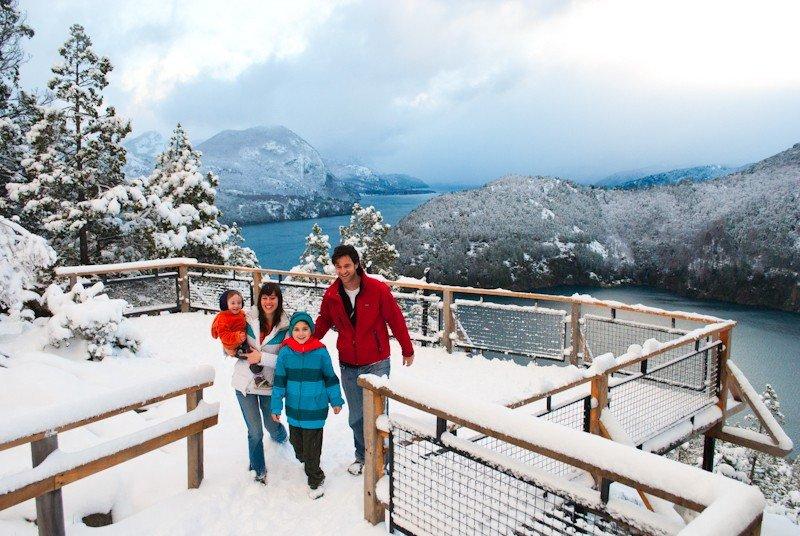 El 65% de los turistas visitó San Martín de los Andes en familia.