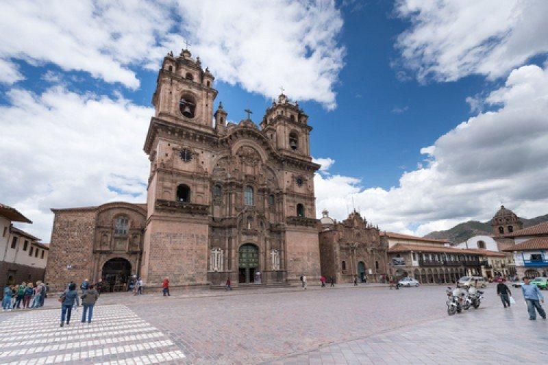 El movimiento en Cuzco se vio afectado en los últimos dos días por un paro de actividades. #shu#