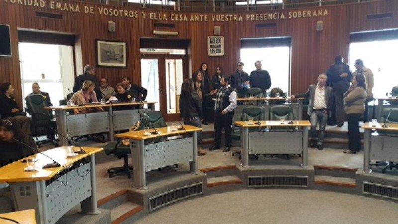 Los miembros de la Comisión de Turismo de la Cámara de Representantes sesionaron en la Junta Departamental de Maldonado.