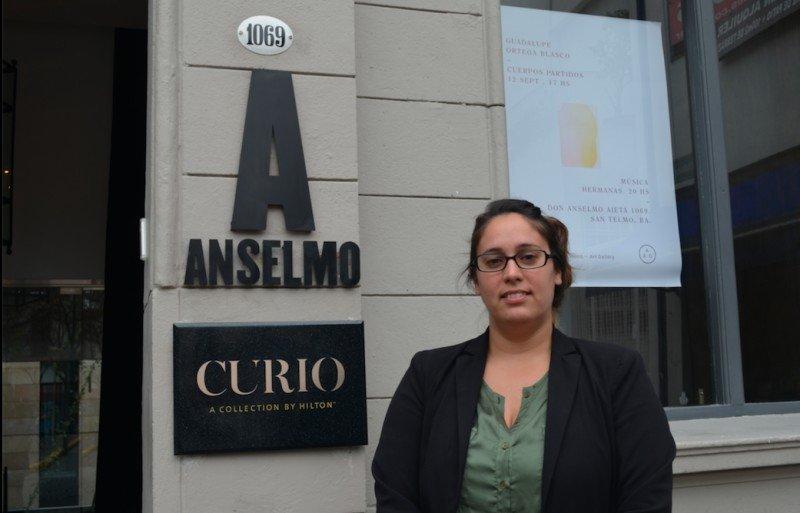 Marina Fumuso, gerente de ventas de Anselmo Curio Collection by Hilton.