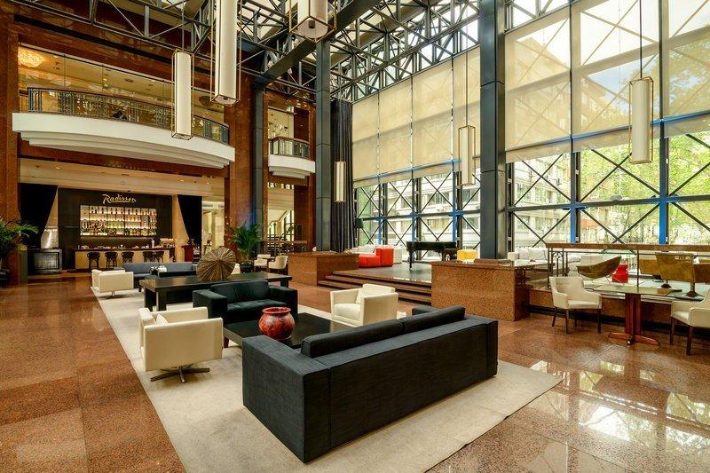 El lobby ofrecerá un nuevo aspecto a los visitantes.