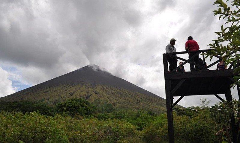 Nueva infraestructura turística para el volcán San Cristóbal.