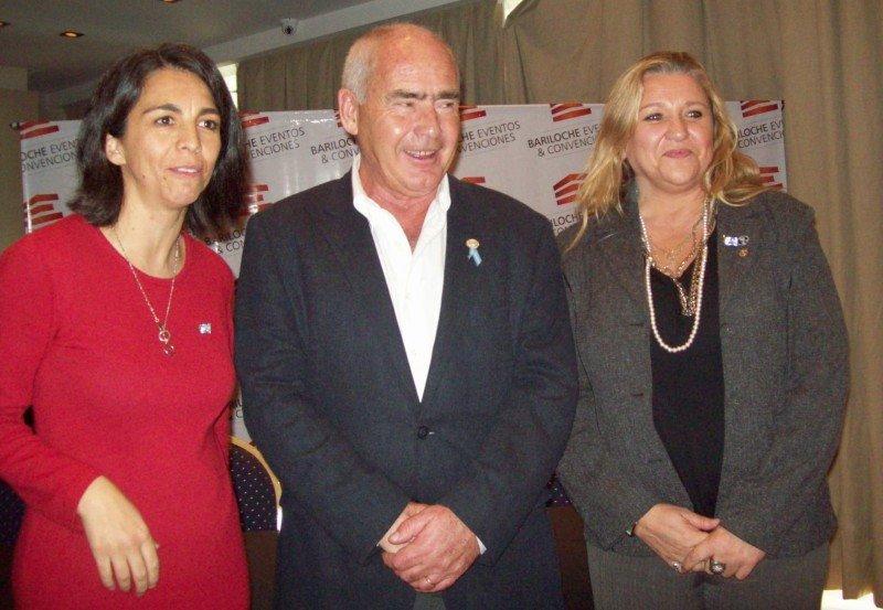 Mariana Giachino, Enrique Meyer y Silvina Arrieta.