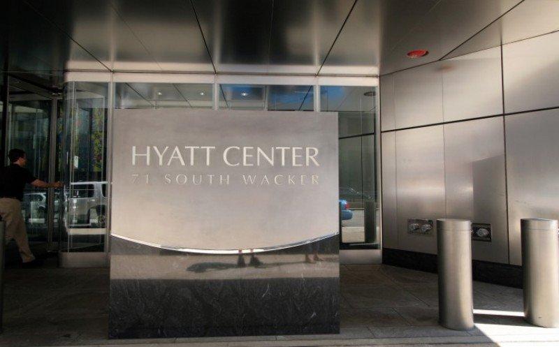 Oficinas centrales de Hyatt, en Chicago.