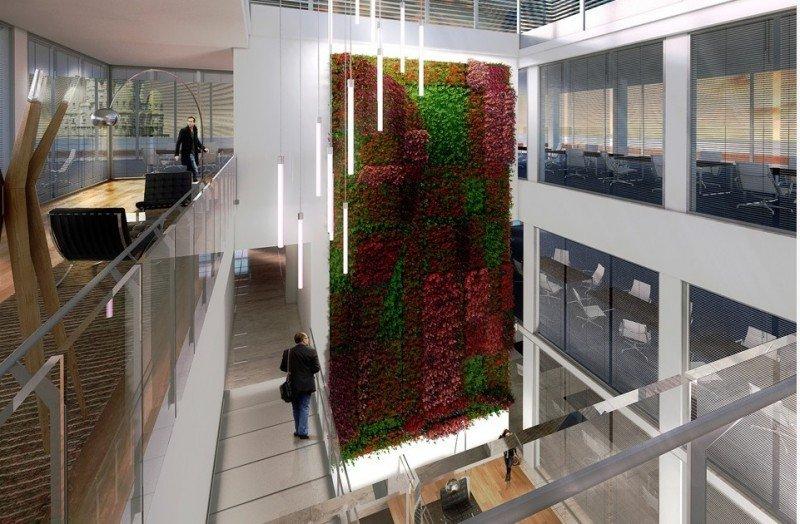 Detalle del diseño de la nueva Victoria Plaza Ofiice Tower.