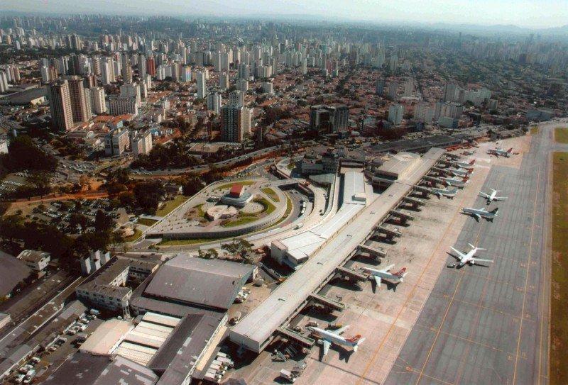 Aeropuerto de Congonhas, Sao Paulo.