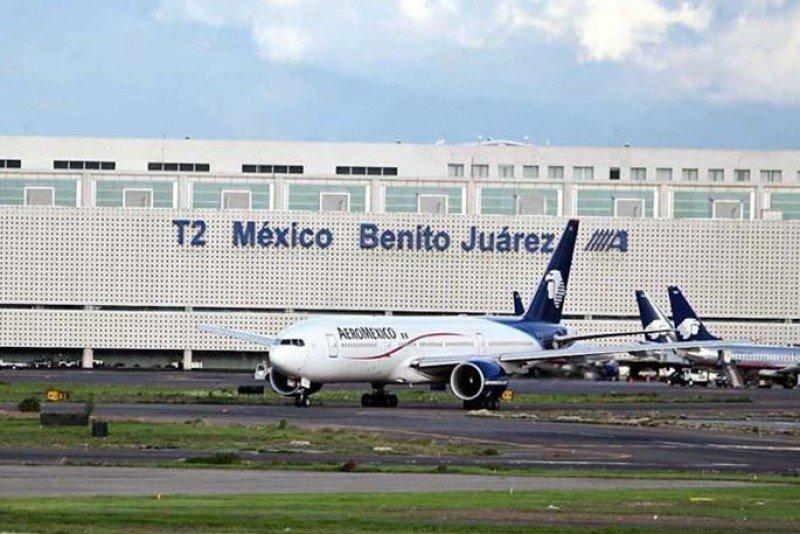 Aeropuerto Benito Juárez de la Ciudad de México.