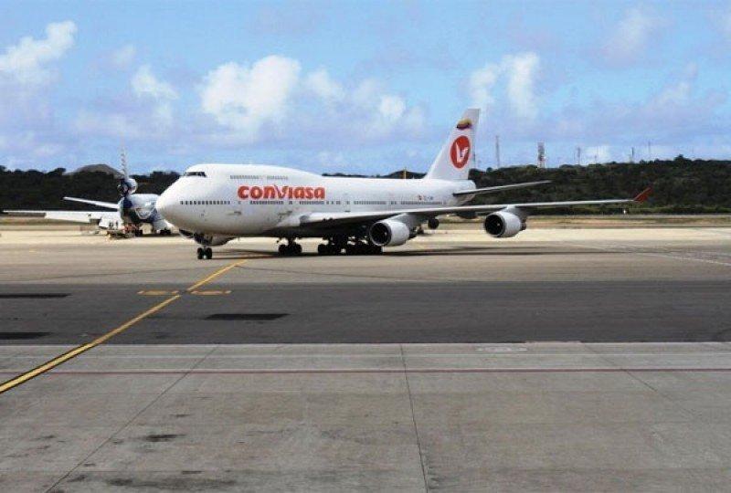 Conviasa amplía capacidad entre Caracas y Buenos Aires