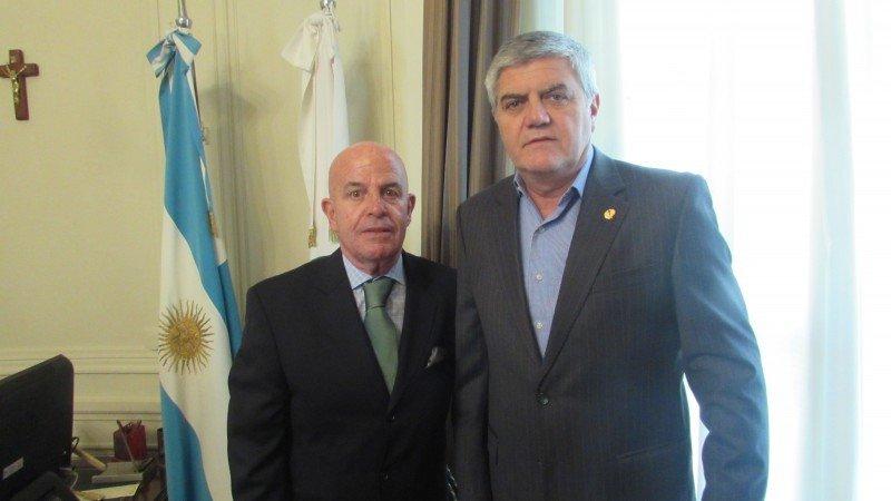 Jordi Busquets y Roberto Brunello.