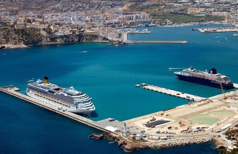 Comienzan las obras de la nueva terminal de cruceros de Ibiza